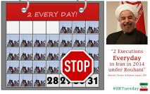 2 Executions in Iran every day
