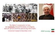Baha'i Rights in Iran