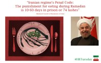 Lashing in Iran