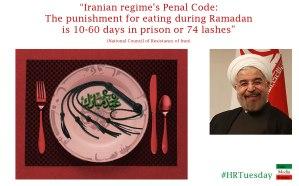 Lashing in Iran