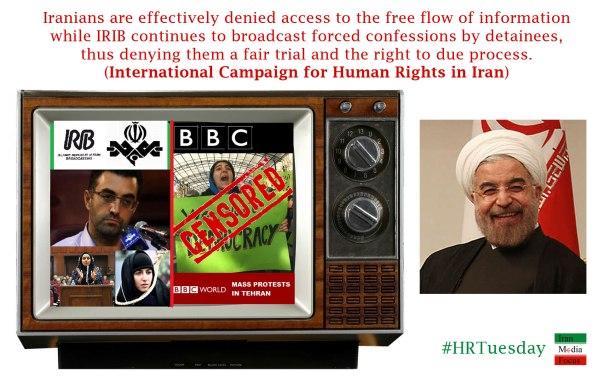 Selective Media in Iran