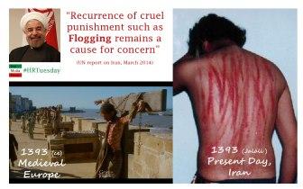 Flogging in Iran