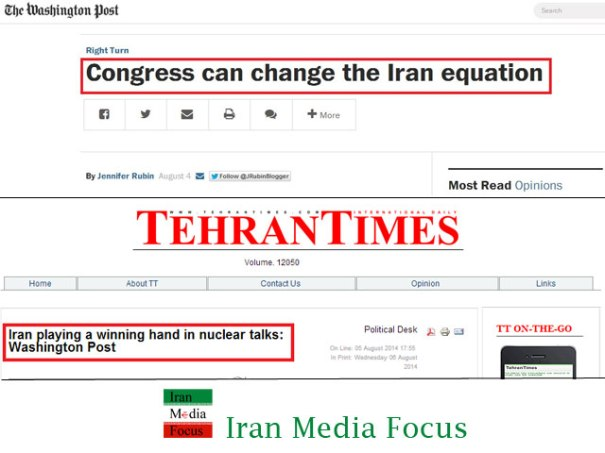 Washington post-and- Tehran times