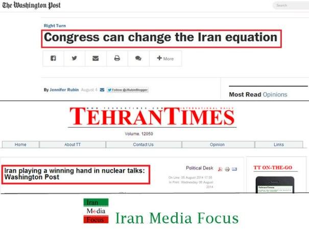Washington post-and- Tehran times