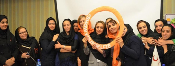 #showyourselfie. Iran Photo credit UNFPA Iran