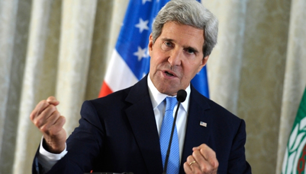 John kerry in Cairo- Zee Media Bureau