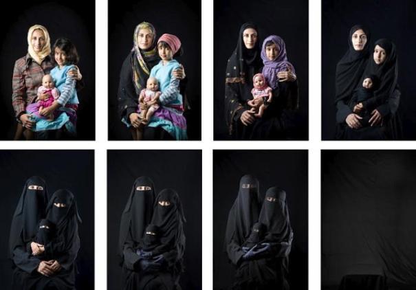 """""""Disparition"""" by Bouchra Almutawakel- Illustration"""