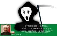 Cyberspace as a threat