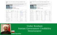 Under Rouhani Iranian Government Credibility Deteriorates!