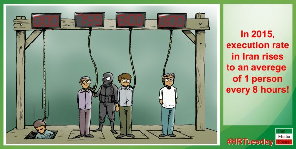 Rise in execution rate in Iran